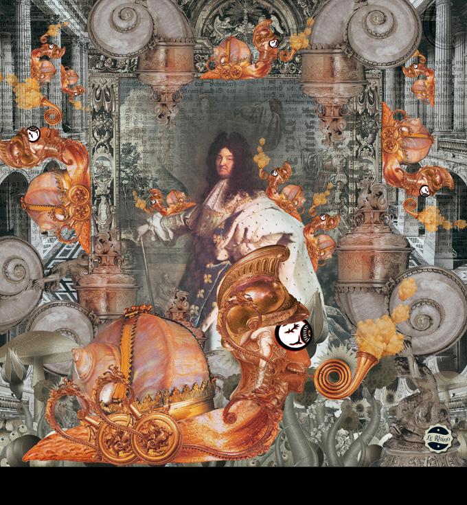 Louis XIV et les escargots