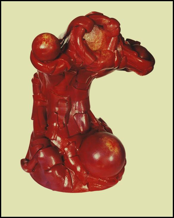 Sculpture sans titre - 74 cm - Caoutchouc